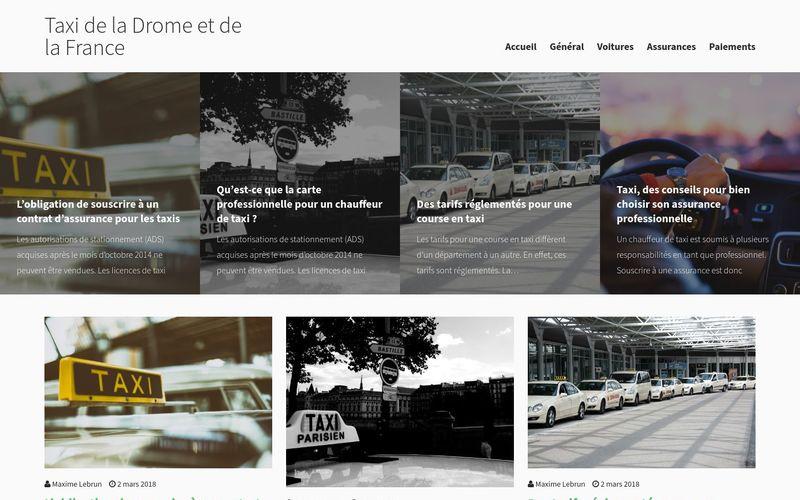 Taxi de la Drome et de la France - Des infos sur les taxis dans la Drôme et en France