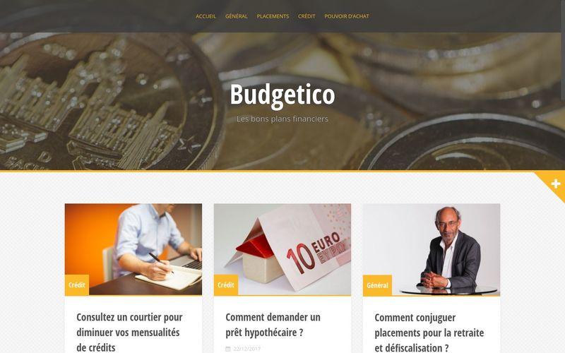Budgetico : les bons plans financiers