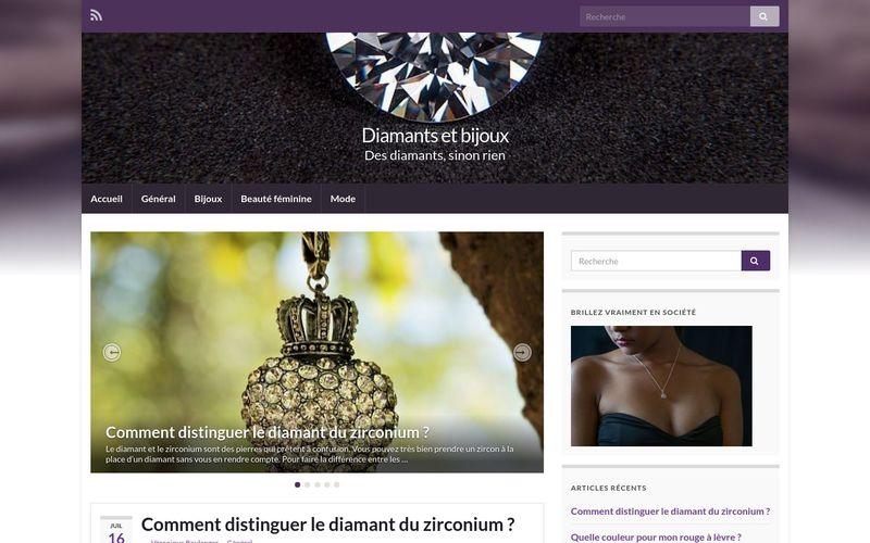 Diamants et bijoux - Des diamants, sinon rien
