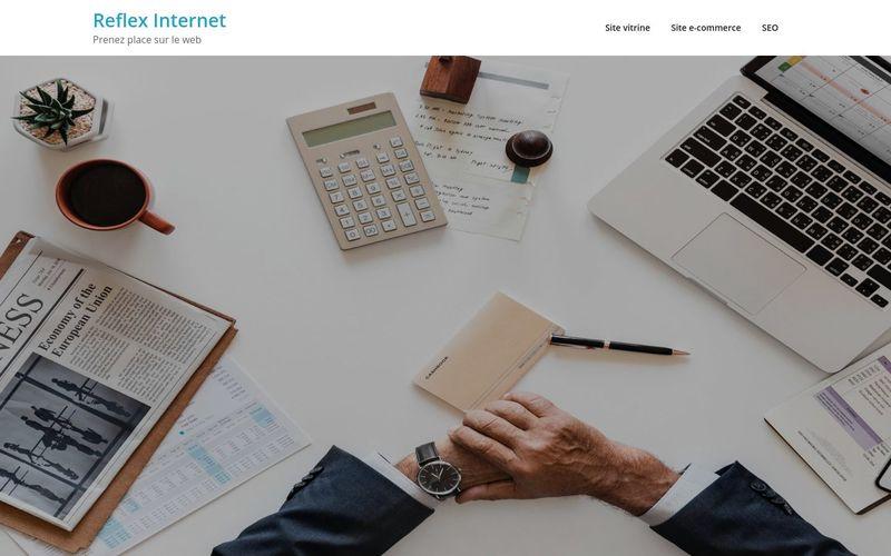 Reflex Internet - Prenez place sur le web