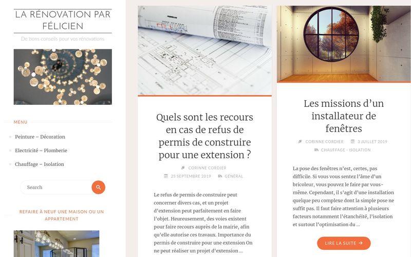 La rénovation par Félicien - De bons conseils pour vos rénovations