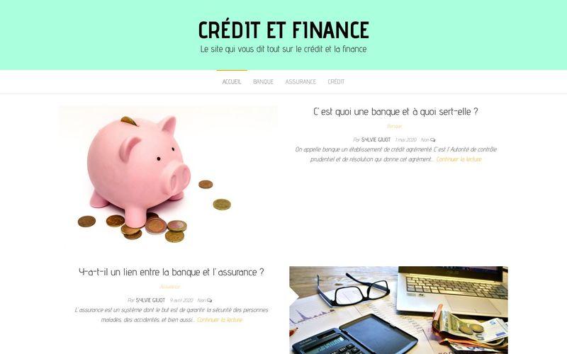 Crédit et finance - Le site qui vous dit tout sur le crédit et la finance